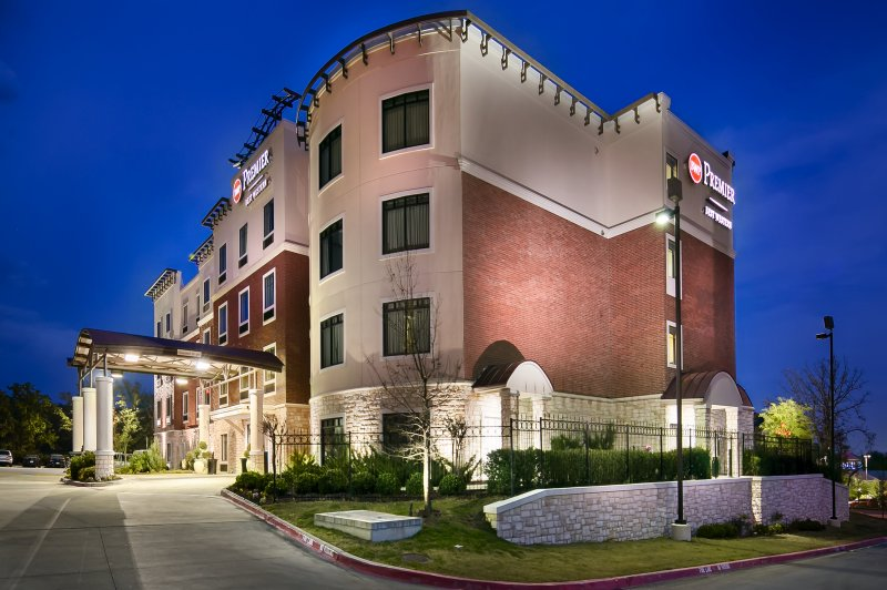 Exterior photo of the Best Western Premier of Denton