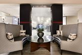 Lounge seating with waterfall photo