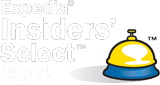 2013, 2014 Expedia Insiders' Select Winner
