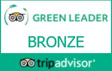 We're a TripAdvisor GreenLeader Hotel