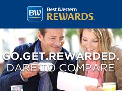 Best Western Rewards Go. Get. Rewarded. Dare to Compare