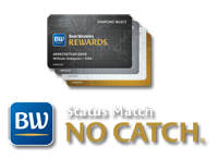 Best Western Rewards Status Match No Catch